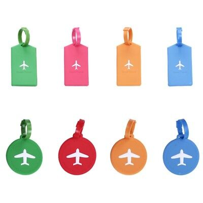 Fashion Travel Luggage Name Address ID Label Rubber Suitcase Baggage Hot Tags