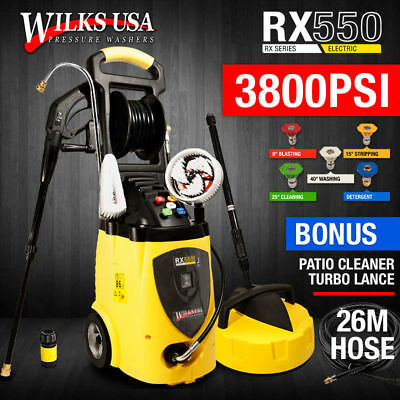 Electric Pressure Washer - 3800PSI Induction Patio Jet Cleaner - WILKS-USA.RX550