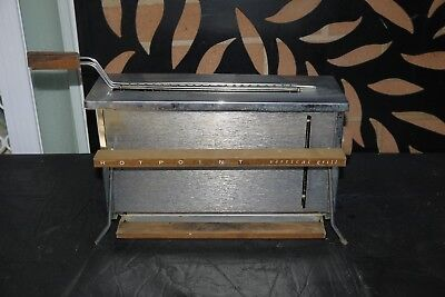 Vintage HOTPOINT Vertical Grill AS IS
