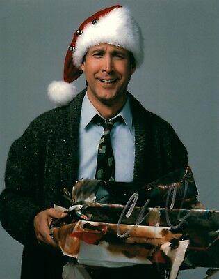 Chevy Chase National Lampoons Christmas Vacation Signed 8x10 Photo COA 2