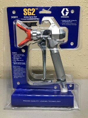 GRACO SG2 Airless Spray Paint Gun 243011 (NEW)