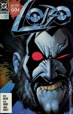 Lobo (1st Series DC) 1B 1990 2nd Printing VF- 7.5 Stock Image