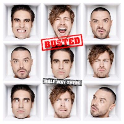 Busted - Half Way There - New CD Album - Pre Order - 1st February