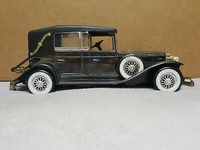 Vintage Solid State AM Radio Lincoln 1928 Model L Convertible Car WORKING W/ BOX