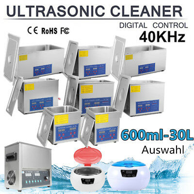Ultraschall Reinigungsgerät Ultraschallreiniger Ultrasonic Cleaner 600ml-30L DE