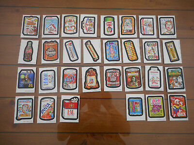2017 Topps Wacky Packages Old School 6th Series 6 Complete White Set 30/30 NM