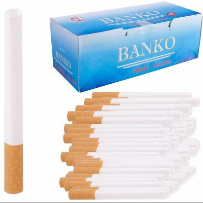 1000x KING SIZED FILTER TUBES Make Your Own Cigarette Empty Ciggie/Cig Concept