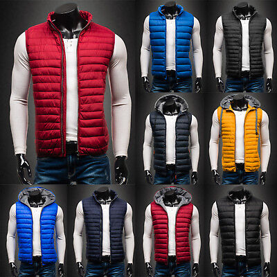 BOLF Vests Gilet Waistcoat Bodywarmer Puffer Quilted Casual Mix Mens 4D4 Warm
