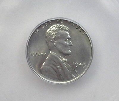 1943 Lincoln Wheat Cent  Icg Ms67 Price Guide Valued At $160