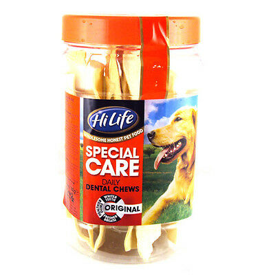 Hilife Special Care Daily Dog Dental Chews - Tub of 12