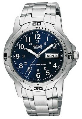 Lorus Mens Sports Watch RXN51BX7F RRP £49.99 Our Price £39.99 Free UK Post