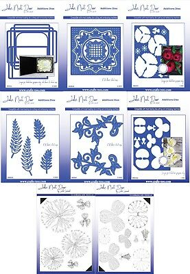 John Next Door - Card Die Collection & Additions Dies & Clear Stamps FREE UK P&P