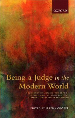 Being a Judge in the Modern World by Oxford University Press (Paperback, 2017)