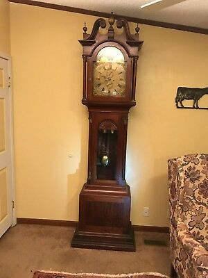 Antique Tall Case Clock by Shreve Crump & Low Boston Grandfather