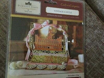 crafters companion Downton Abbey  VINTAGE CASTLE die.  New