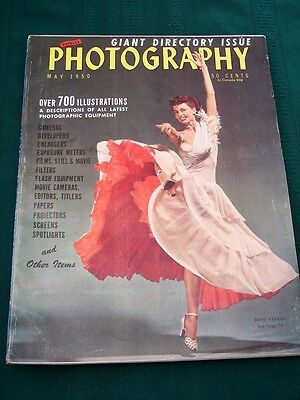 Popular Photography - 1950 Photo Equipment Directory Issue -
