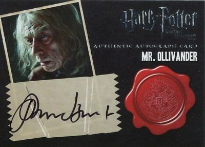 Harry Potter And The Deathly Hallows Part 2 Autograph John Hurt
