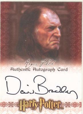 Harry Potter World Of 3D Autograph David Bradley