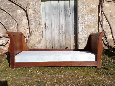 Single Boat bed or sofa C1860 in Walnut NO RESERVE