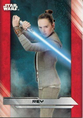 Star Wars The Last Jedi Complete Trading Card Base Set