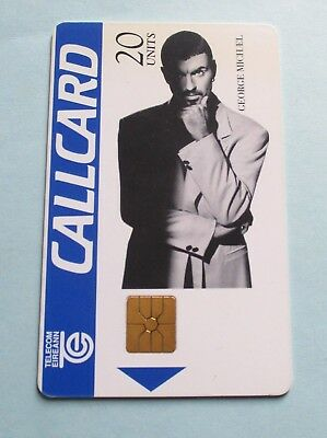 George Michael / Used Irish Phonecard