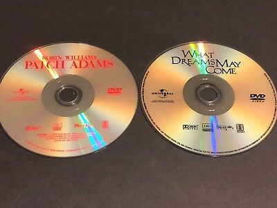 Patch Adams/What Dreams May Come Double Feature (DVD, 2007 Two Disc) •Disc Only•
