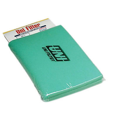 "Uni Bulk Fine Air Filter Foam 65 PPI 12"" x 16"" x 5/8"" Green"