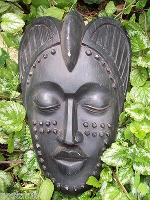 "Tiki face abs plastic mold 14""L plaster concrete casting mould"