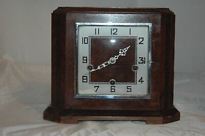 Antique / Vintage Enfield Westminster Chimes Mantle Clock.