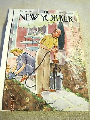 Very Fine May 13, 1944 NEW YORKER mag~many fashion ads~Dean Cornwell ad art~WW2