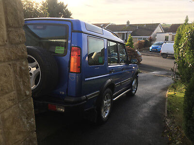 Land Rover discovery 2 with LPG