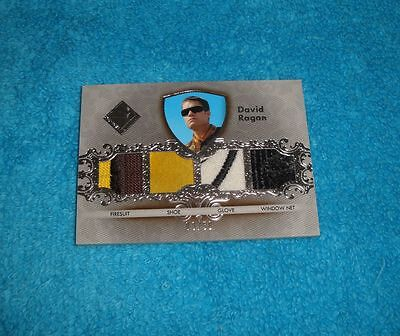 2012 Press Pass Total Memorabilia David Ragan Quad Tm-Dr2 Race Used 8/50