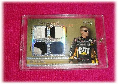 2010 Press Pass 5 Star Jeff Burton Race Used 1/5 Pp-Jb Paramount Pieces Quad