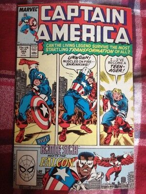 Captain America Vol.1 #355 Comic By Marvel