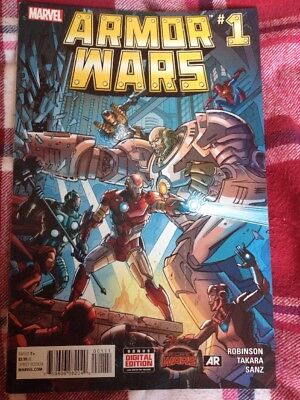 Armor Wars #1 Comic By Marvel
