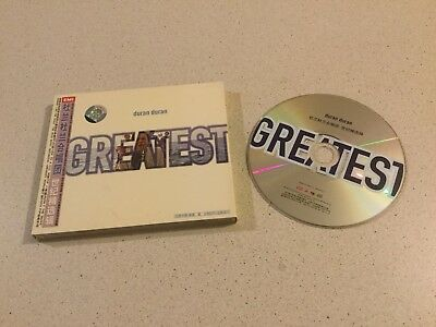 Duran Duran  -  Greatest  -  Chinese Issue Cd In Slipcase With Inserts