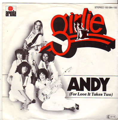 """Girlie """" Andy (For Love It Takes Two) / My My Baby """" 7'-Single (1978)"""