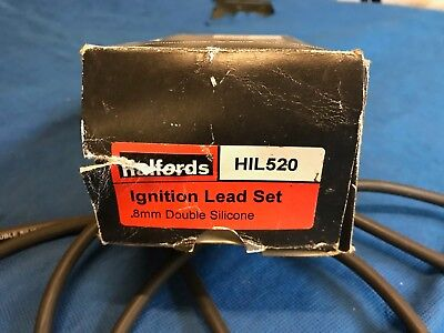 Halfords Ignition Lead Set HIL520 Ford Escort Fiesta 1.3 late 80's, early 90's
