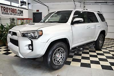 2018 Toyota 4Runner TRD NO RESERVE 2018 Toyota 4Runner 4x4 TRD 1k Miles Rebuildable SUV Repairable Damaged Wrecked