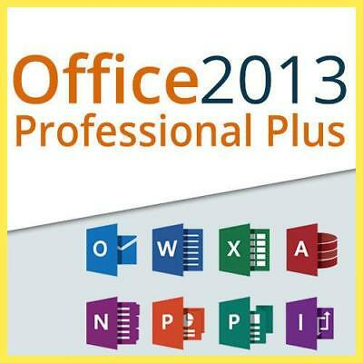 Microsoft Office Professional Plus 2013 - Downloadlink - Key Deutsch 64Bit 32Bit