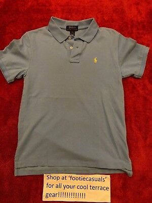 Boys Ralph Lauren Polo Shirt-Youth Large (12 Years)
