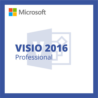 Microsoft Visio 2016 Professional Downloadlink + Key - Deutsch 32+64Bit x64 x86