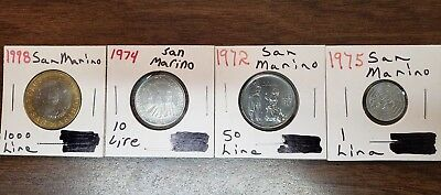 Lot Of 20 San Marino Coin Collection