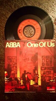 7'' Single -  Abba, One of Us / Should I Love or Cry, 1981