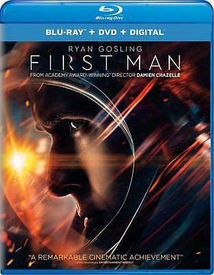 First Man (Blu-ray Disc, 2019 ) - Please Read