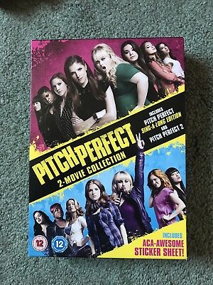 Pitch Perfect 2 Movie Collection Dvds Includes Sing Along Edition