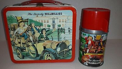 1963 The Beverly Hillbillies  Metal Lunch Box