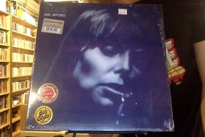 Joni Mitchell Blue LP sealed blue colored vinyl reissue SYEOR