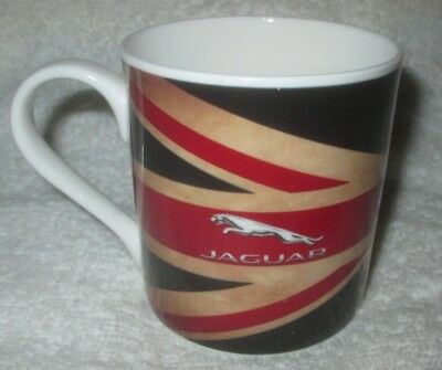 """Jaguar/Land Rover """"Keep Calm And Motor On"""" Coffee Mug made in Britain automobile"""