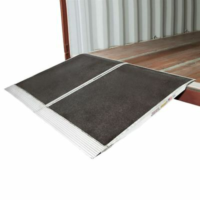 Forklift 48x72 Shipping Container Ramps for Loading Docks 05-36-048-06-Grit-2